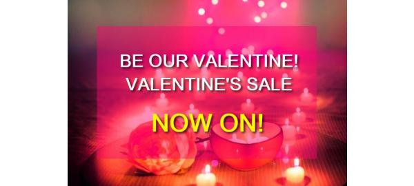 Our Valentine's Sale is full of Love!