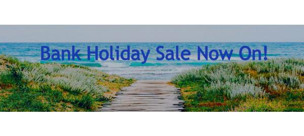 Great brands, great savings, it must be our Bank Holiday Sale