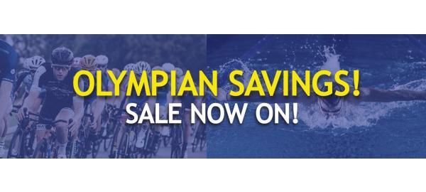 Save like an Olympian - Sale Now On!
