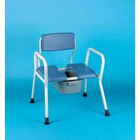 Commode Bedside Bariatric - Seat Width 28