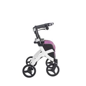 Small Rollz Flex Shopping Trolley and Rollator - Classic Brakes