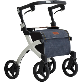 Rollz Flex Shopping Trolley and Rollator - Classic Brakes