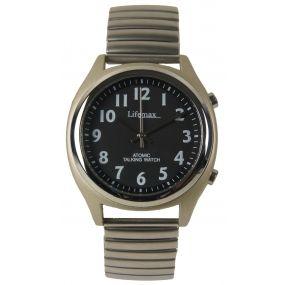 Talking Atomic Watch - Mens - Expandable Braclet