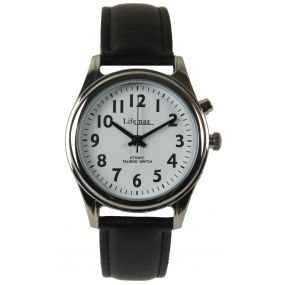 Talking Atomic Watch - Ladies - Leather Strap