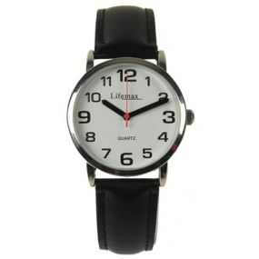 Clear Time Watch - Ladies Leather Strap