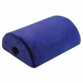 Aidapt 4-1 Suedette Cover Memory Cushion - Blue (14.5x11.5x5.5