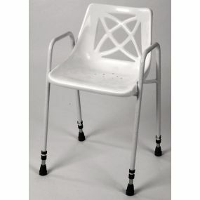 Standard Stationary Shower Chair - Adjustable Height