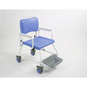 Atlantic Bariatric Commode & Shower Chair - With Footrests (20