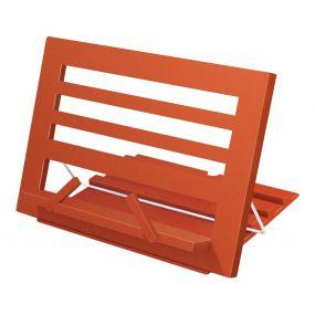 Burnt Orange Plastic Reading Rest