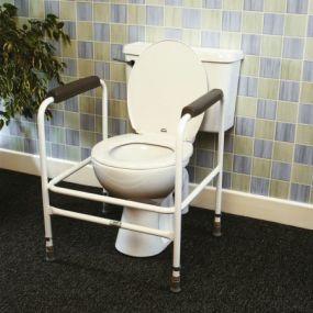 Adjustable Toilet Surround - Steel