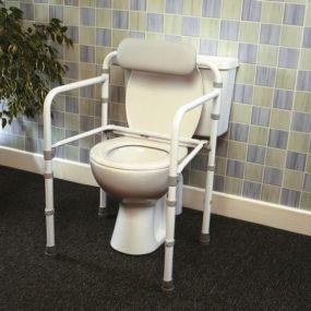 Uni - Frame Folding Toilet Rail