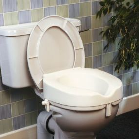 Taunton Raised Toilet Seat - 2