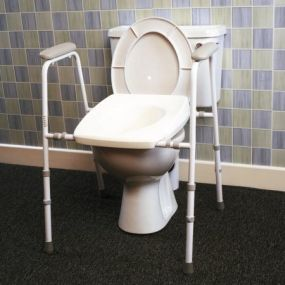 Deluxe Stirling Toilet Frame