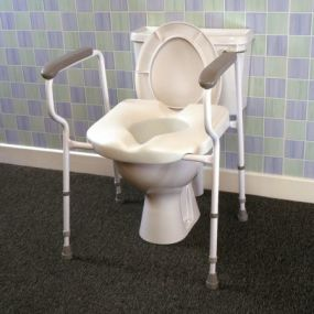 Deluxe Stirling Elite Toilet Frame