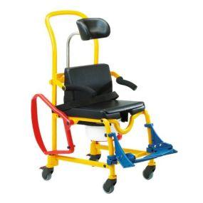 SHOWER COMMODE SEAT ADJUSTMENT