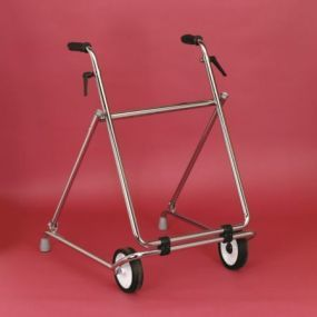 Two Wheeled Folding Walking Frame