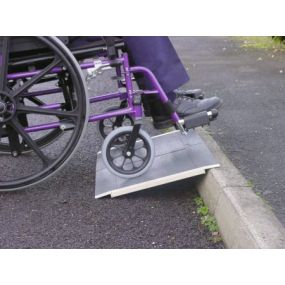 Super Light Wheelchair Travel Ramp - 45cm