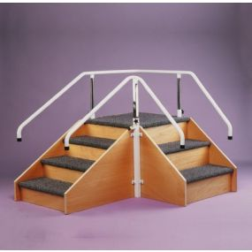 Adjustable Rehabilitation Corner Steps