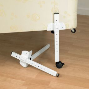 Adjustable Bed Raisers - Wheeled