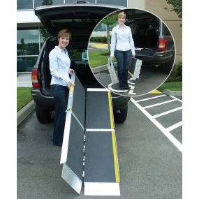 Aluminium Scooter / Powerchair Tri-Fold Ramps - 10ft