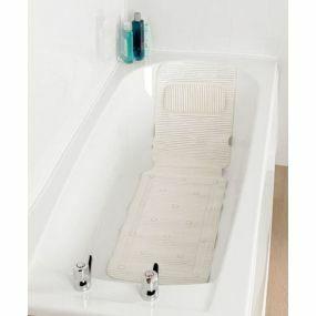 Plastic Bath Mat And Neck Rest