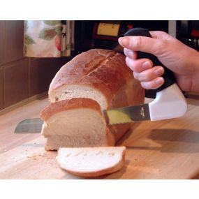 Bread Knife With Right Angled Handle