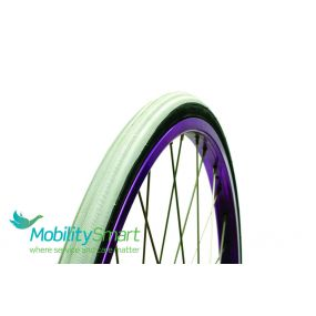 Coloured Primo Racer Wheelchair Tyres (V-Trak) C1025