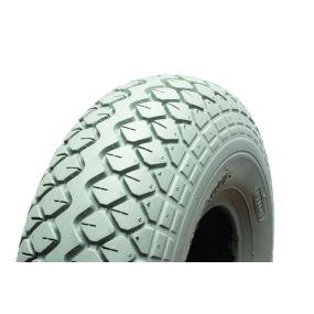 Cheng Shin - Pneumatic Grey Tyre (Pattern Block C154) - 400 X 5 (330 X 100)