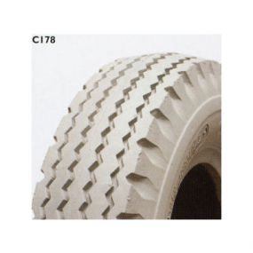 Cheng Shin - Pneumatic Grey Tyre (Pattern Wave C178) - 280/250x4