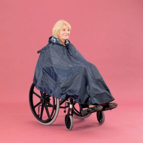 Lined Wheelchair Poncho
