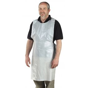 Disposeable Aprons Blue - Heavy Duty (2 Hanging Packs Of 100)