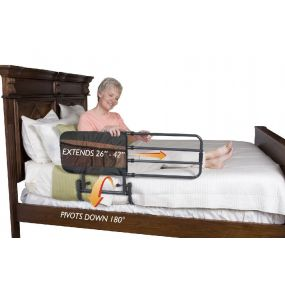 EZ Adjustable Bed Rail - With Pouch