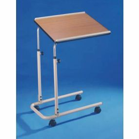 Economy Over Bed Table (Bolted Frame) - With Castors