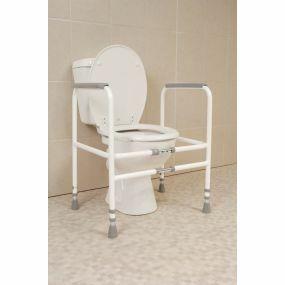 Economy Toilet Frame - Width Adjustable