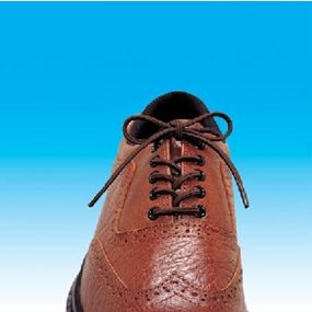 Round Style Elastic Shoelaces - Brown 24