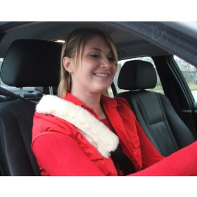 Fleece Seatbelt Pads