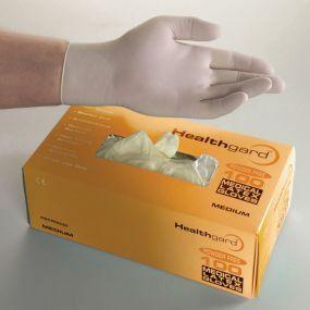 Healthguard Latex Exam Gloves - Powder Free (Large)