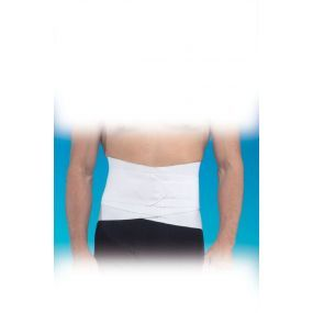 Lumber Sacral Support With Overlapping Abdominal Belt