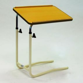 Over Bed Table with Open Base - Without Castors