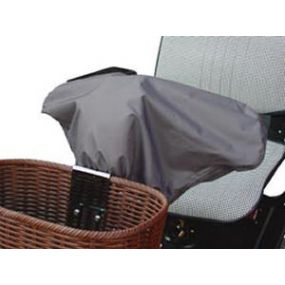 Mobility Scooter Tiller Cover - Grey