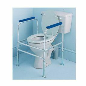 Adjustable Height Toilet Surround - Floor Fixed