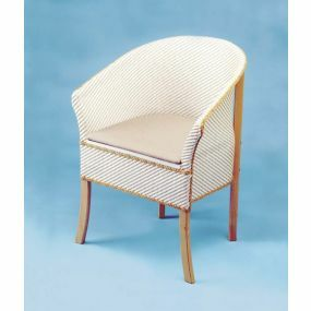 Basket Weave Commode Chair
