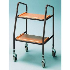 Walking Trolley - Wooden Shelves