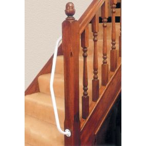 Newel Post Hand Rail - Right Angle