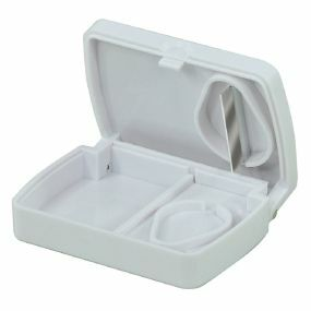 Pill Storage Box With Cutter