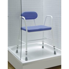 Polyurethane Shower Stool - Extra Wide