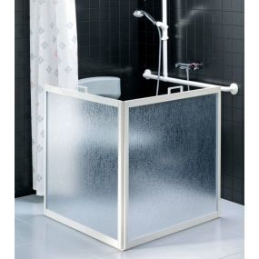 Portable Shower Screen - 2 Panel