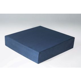 Harley Proform Ultra Suedette Cover Seat Raiser Cushion - Blue (19.75x19x4