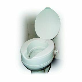 Raised Toilet Seat With Lid - 2