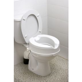 Raised Toilet Seat Without Lid - 6